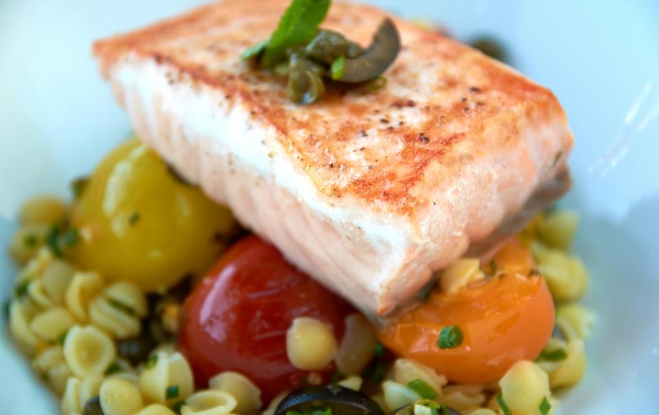 Tuscan-style salmon