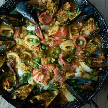 Perfect paella