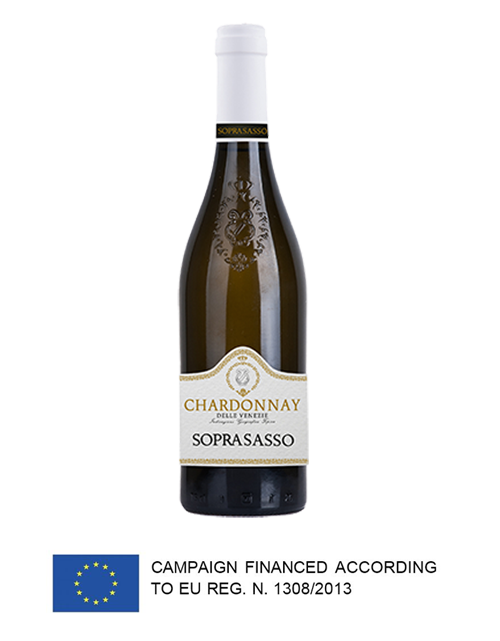 Soprasasso Chardonnay Trevenezie, Vin blanc, Code SAQ :13189009