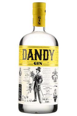 Dandy gin, Genièvre aromatisé (fleur), Domaine Lafrance, 750 ml, Code SAQ: 13385827